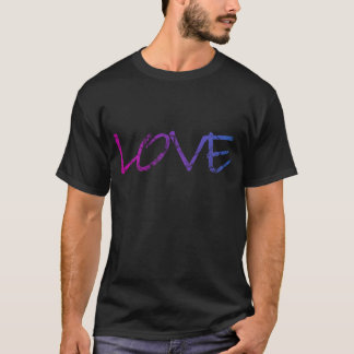 Pink, Purple, Blue Love Vintage T-Shirt