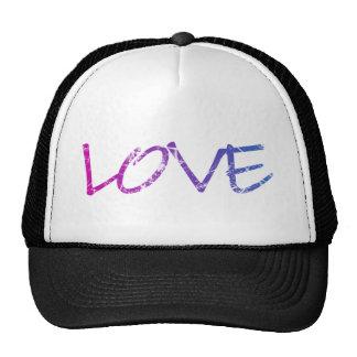 Pink, Purple, Blue Love Vintage Trucker Hat