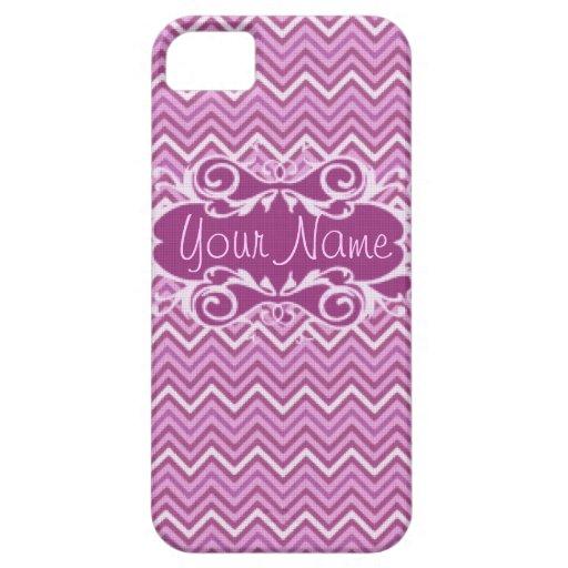 Pink & Purple Chevron iPhone 5 Case-mate iPhone SE/5/5s Case