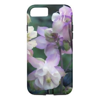 Pink Purple Columbine flowers iPhone 8/7 Case
