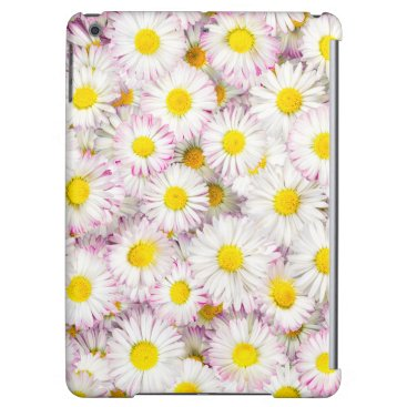 Pink Purple Daisy Flower Pattern Case For iPad Air