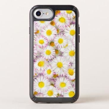 Pink Purple Daisy Flower Pattern Speck iPhone Case