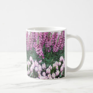 PINK Purple Flower Show: Love Sensual Romance Gift Coffee Mug