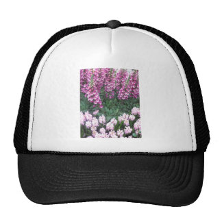 PINK Purple Flower Show: Love Sensual Romance Gift Trucker Hat