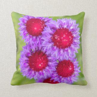 Pink/Purple Flowers Cushion/Pillow Throw Pillow