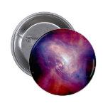 Pink Purple Galaxy 2 Inch Round Button