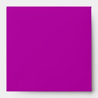 Pink & Purple Giraffe Baby Shower Envelope