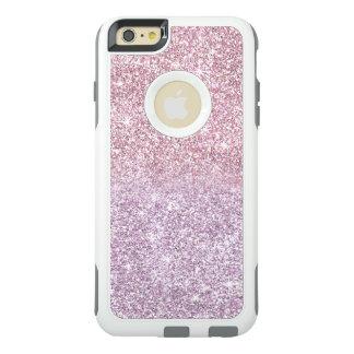 Pink Purple Glitter Ombre Pastels Stylish OtterBox iPhone 6/6s Plus Case