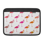 Pink Purple Gold Flamingo Watercolor Tropical MacBook Air Sleeves