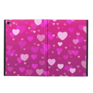 Pink purple hearts powis iPad air 2 case