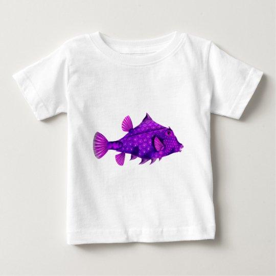 Pink & Purple Humpback Turretfish Baby T-Shirt