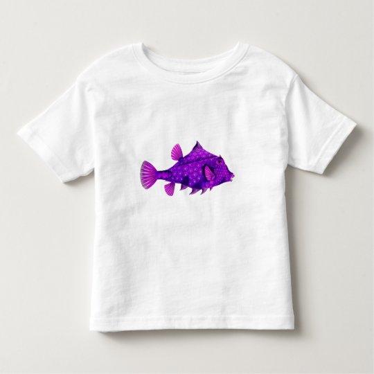 Pink & Purple Humpback Turretfish Toddler T-shirt