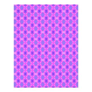 Pink & Purple Illusion Diamonds Scrapbook Paper