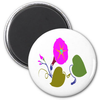 PINK PURPLE  LILLY LILY FLOWER REFRIGERATOR MAGNET