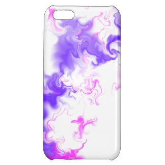 Pink & Purple Marble Digital Art Case For iPhone 5C