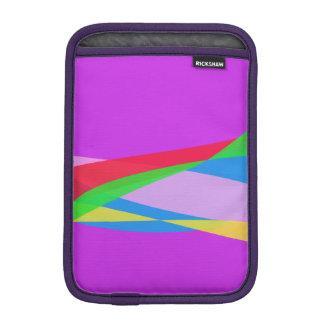 Pink Purple Minimalism Abstract Art iPad Mini Sleeve