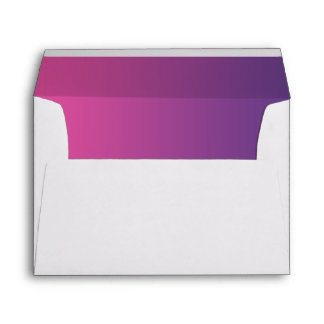 Pink & Purple Ombre A7 Envelope