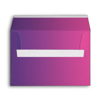 Pink & Purple Ombre Envelope