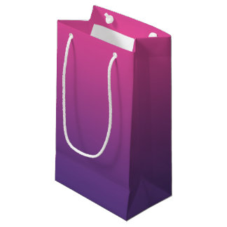 Pink & Purple Ombre Small Gift Bag