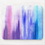 Pink Purple Paint Brush Strokes Painted Watercolor Mouse Pad