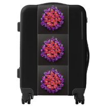 Pink Purple Pattern 4Marcia Luggage