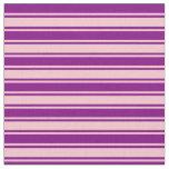 [ Thumbnail: Pink & Purple Pattern Fabric ]