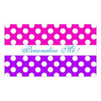 Pink Purple Pattern Modern Bride / House-of-Grosch Double-Sided Standard Business Cards (Pack Of 100)