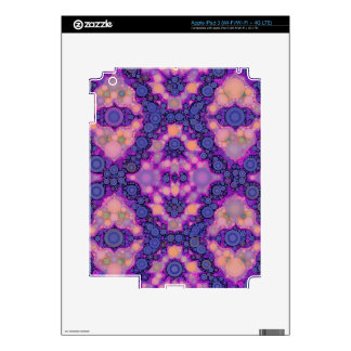 Pink Purple Peach Unique Abstract iPad 3 Decal