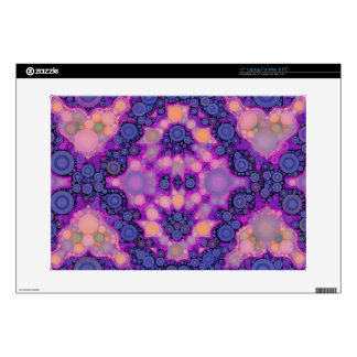 Pink Purple Peach Unique Abstract Laptop Skins