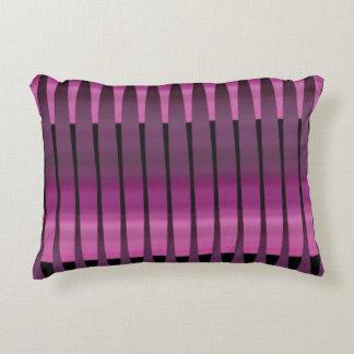 Pink Purple Peruvian Array Cotton Accent Pillow