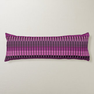 Pink Purple Peruvian Array Cotton Body Pillow