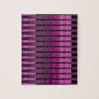 Pink Purple Peruvian Array Jigsaw Puzzle Gift Box