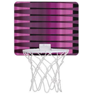 Pink Purple Peruvian Array Mini Basketball Hoop