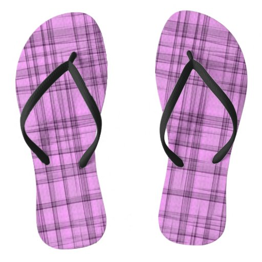 Stonewashed Pink & Purple Plaid