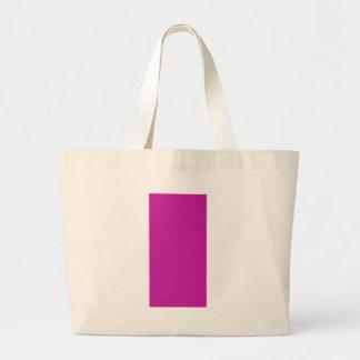 Pink Purple Plain Blank DIY add text image photo Large Tote Bag