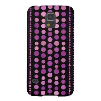 Pink Purple Polka Dots