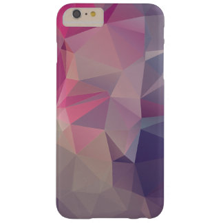 Pink Purple Pyramid Abstract Pattern Art Barely There iPhone 6 Plus Case