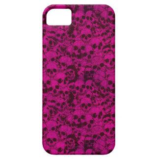Pink/Purple Skulls iPhone SE/5/5s Case