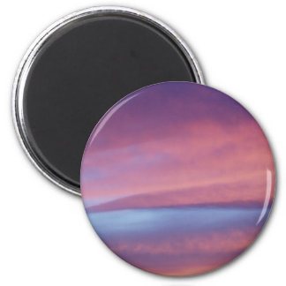 Pink Purple Sky Magnet