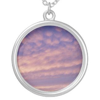 Pink Purple Sky Necklace