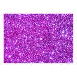 Pink Purple Sparkly Glam Glitter Designer Business Card Templates