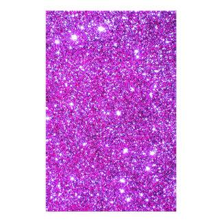 Pink Purple Sparkly Glam Glitter Designer Flyer
