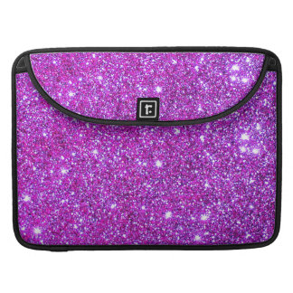 Pink Purple Sparkly Glam Glitter Designer Sleeves For MacBook Pro