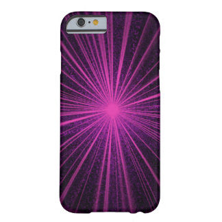 Pink, purple, star burst, radiant light. barely there iPhone 6 case