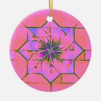 Pink Purple Star Ornament