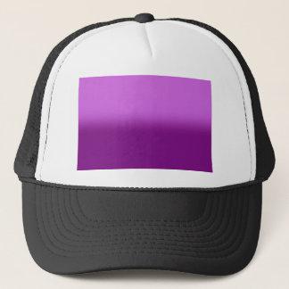 Pink Purple Stripes on Tuckers Hat