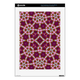 Pink Purple Stylish pattern Skins For PS3 Console