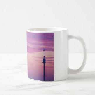 Pink Purple Sunrise In Vienna Austria Coffee Mug