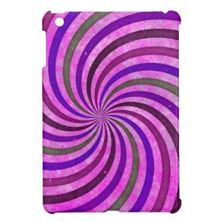 Pink purple swirls pattern cover for the iPad mini