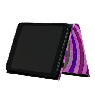 Pink purple swirls pattern iPad mini case
